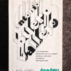 Antonio Buero Vallejo - Teatru - Roman, Anul publicarii: 1984