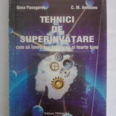 Tehnici de superinvatare - Oana Panagoret / R5P5F - Carte Hobby Dezvoltare personala
