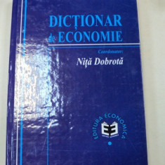 DICTIONAR DE ECONOMIE-NITA DOBROTA - Carte Marketing