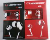 Casti Monster Beats N-eNergy( R) by dr dre, Casti In Ear, Cu fir, Mufa 3,5mm, Monster Beats by Dr. Dre
