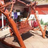 Balansoar de gradina rustic - Leagan
