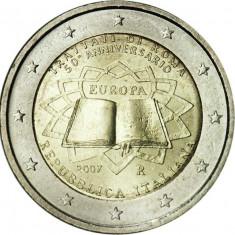 ITALIA moneda 2 euro comemorativa 2007 TOR - UNC