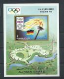 AJMAN 1972 JOCURILE OLIMPICE MUNCHEN