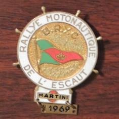 MEDALIE BELGIA - RALIUL MOTONAUTIC DE LA L'ESCAUT 1969