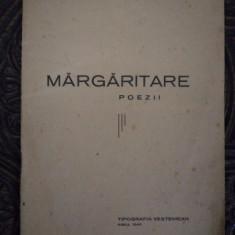 MARGARITARE de NICOLAE GANCEA DELA HANCA ( LEGIONARE)1940 - Carte Editie princeps