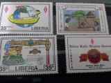Liberia serie Radio MH 1987