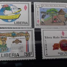 Liberia serie Radio MH 1987 - Timbre straine