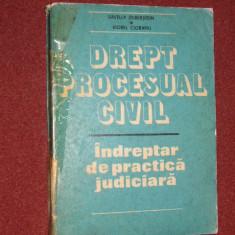 Drept procesual civil- Indreptar de practica judiciara - S.Zilberstein, V.Ciobanu - Carte Drept civil