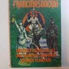 GREGORIAN BIVOLARU - FRANCMASONERIA - MISTERELE DEZVALUITE - CITESTE DESCRIEREA - Carte masonerie