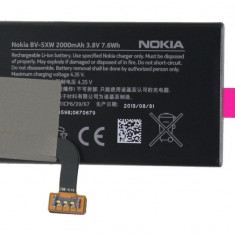 Acumulator Nokia Lumia 1020 cod bv-5xw produs nou original, Alt model telefon Nokia, Li-ion