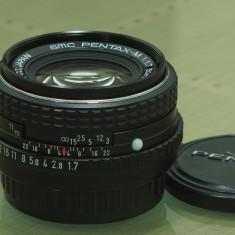 SMC Pentax-M 50mm f1.7 - Obiectiv DSLR Pentax, Standard, Manual focus, Pentax - K