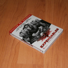 Film Bluray - The Expendables Steelbook Edition ( STEELBOOK ) - Film actiune, Engleza