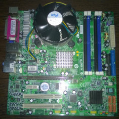 KIT PLACA DE BAZA DESKTOP ACER ASPIRE M3610+INTEL C2D E6320+COOLER/DDR2/HDMI/, Pentru INTEL, LGA775, Contine procesor, Mini-ATX