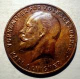 7.619 JETON GERMANIA DRESDA 15 WARENPUNKTE KARL A. LINGNER 26mm