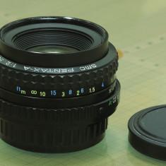 SMC Pentax-A 50mm F2 - Obiectiv DSLR Pentax, Standard, Manual focus, Pentax - K
