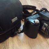Nikon Coolpix L110 + Husa, Card 4GB, Acumulatori, Cutie - Aparat Foto compact Nikon, Bridge, 12 Mpx, 16x, 3.0 inch