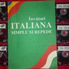 Curs de Limba Italiana+6 casete audio - Curs Limba Italiana