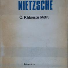 NIETZSCHE - C. Radulescu-Motru - Carte Filosofie