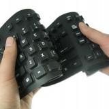 Tastatura Alta Flexibila Silicon Tastatura Alta ieftina silicon, Cu fir, USB