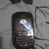 Nokia Asha 200 dual sim negru - Telefon Nokia, Nu se aplica, Neblocat, Fara procesor