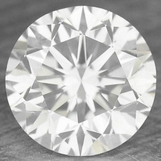 DIAMANT NATURAL ALB - 0, 125ct. - 3, 20 mm- certificat de autenticitate BRILIANT