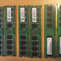 Kit DDR 2, 5300 (667Mhz) 2 x 512MB - Memorie RAM Kingmax, 1 GB, Dual channel