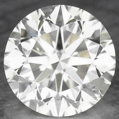 DIAMANT NATURAL ALB - 0, 224ct. - 3, 94 mm diametru, certificat - BRILIANT ! ! !