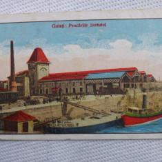 Galati:Pescariile Statului.Circulata, 1925. Reducere! - Carte Postala Moldova dupa 1918