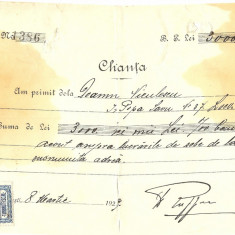 CHITANTA FABRICA DE SOBE DE TERACOTA  E RUFFER BUCURESTI