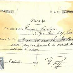 CHITANTA FABRICA DE SOBE DE TERACOTA E RUFFER BUCURESTI - Hartie cu Antet