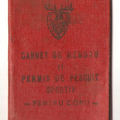 PERMIS PESCUIT 2 - Pasaport/Document