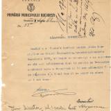 PRIMARIA MUN BUCURESTI SECTOR 1 NEGRU  1926