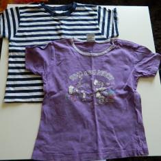 Set de doua tricouri pentru copii, unisex, marimea 4-6 ani, ideale de joaca, Culoare: Din imagine