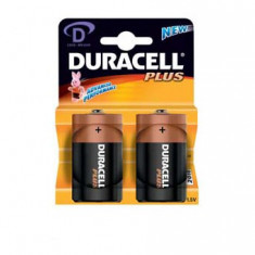 Baterie Duracell Plus model LR20 2 buc. Blister