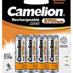 Acumulator Camelion HR6 2700mAh NiMH 4 buc./blister - Baterie Aparat foto Camelion, Tip AA (R6)