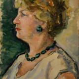 Ecaterina Cristescu Delighioz - Pictor roman, Portrete, Tempera, Altul