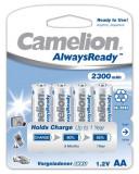 Acumulator Camelion HR6 Mignon AA AlwaysReady 4 buc. / Blister 2300mAh