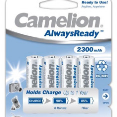 Acumulator Camelion HR6 Mignon AA AlwaysReady 4 buc. / Blister 2300mAh - Baterie Aparat foto Camelion, Tip AA (R6)