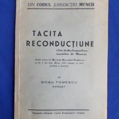 AVOCAT GOGU TOMESCU - TACITA RECONDUCTIUNE - PLOIESTI - 1940