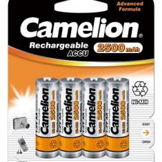 Acumulator Camelion HR6 Mignon AA 2500mAh 4 buc. / Blister - Baterie Aparat foto Camelion, Tip AA (R6)