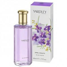 Yardley April Violets EDT 50 ml pentru femei, Apa de toaleta, Floral