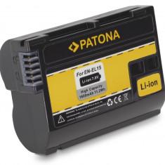 PATONA | Acumulator pt NIKON 1V1 EN-EL15 ENEL15 (nu si pt D7100 !) - Baterie Camera Video