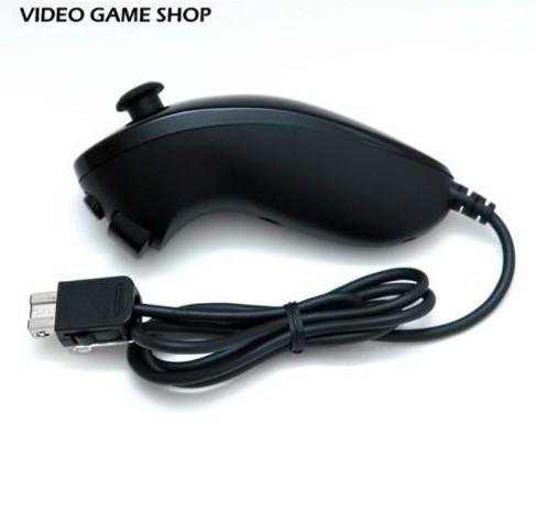 Maneta nunchuck Nintendo Wii controller black negru