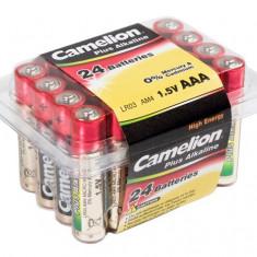 Baterie Camelion Plus Alkaline LR03 AAA Micro (2 x 24 buc. / Box)