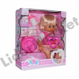 Papusa Baby Cute cu accesorii - 35cm