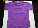 Tricou sport pentru copii, mov, 10-12 ani, de la Decathlon, gama Quechua, Verde, Unisex