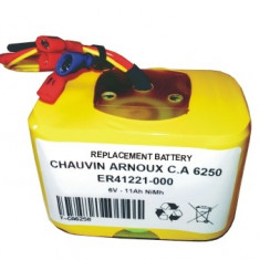 Acumulator compatibil Chauvin Arnoux CA6250 - Baterie Camera Video