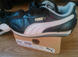 Vand adidasi copii originali marca Puma, Baieti, 28, Negru