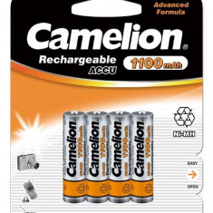 Acumulator Camelion HR03 Micro AAA 1100mAh 4 buc. / Blister - Baterie Aparat foto Camelion, Tip AAA (R3)