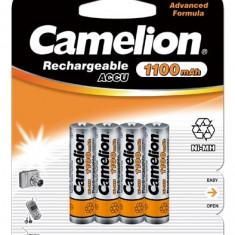 Acumulator Camelion HR03 Micro AAA 1100mAh 4 buc. / Blister - Baterie Aparat foto Camelion, Tip AAA (R3)